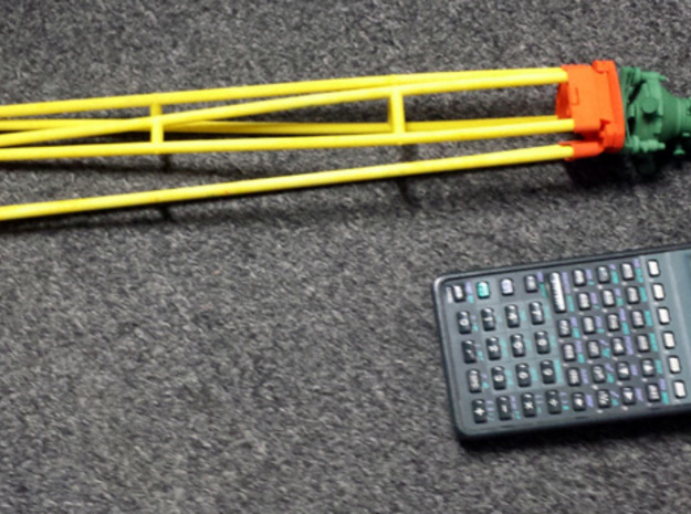 Wild GST30 1/4th scale kit instrument legs 3d printed Dyed w/ 1/4 scale T3