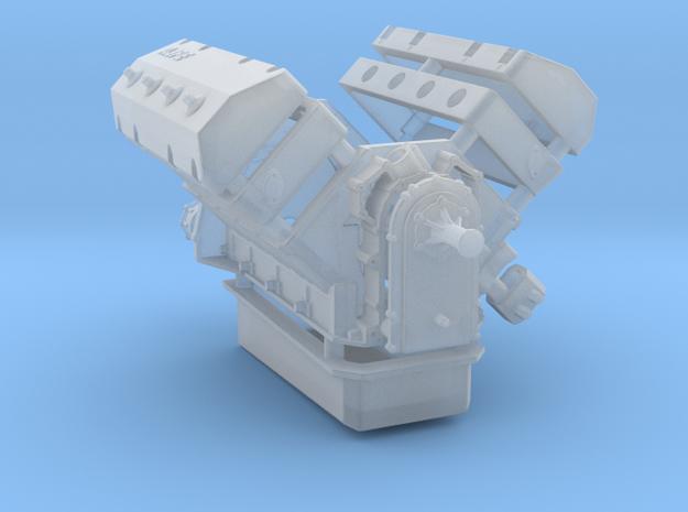 AJPE 1/25 Hemi Single Plug in Smooth Fine Detail Plastic