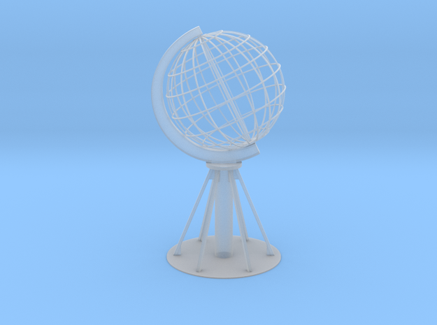 Northcape Globe with base in Smooth Fine Detail Plastic