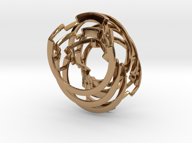 Fall Apart Six - Metal in Polished Brass