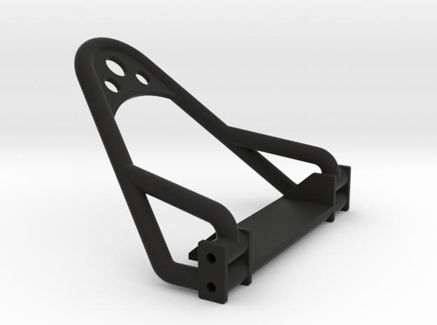 1/24 Crawler Bumper (4 link frame) in Black Natural Versatile Plastic