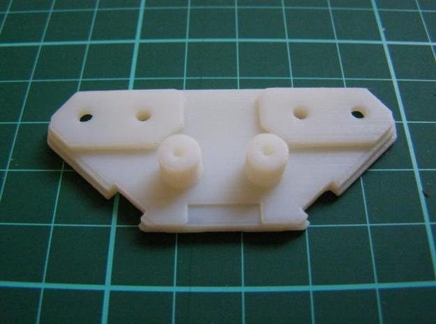 drivestack_rear 3d printed rear white detail