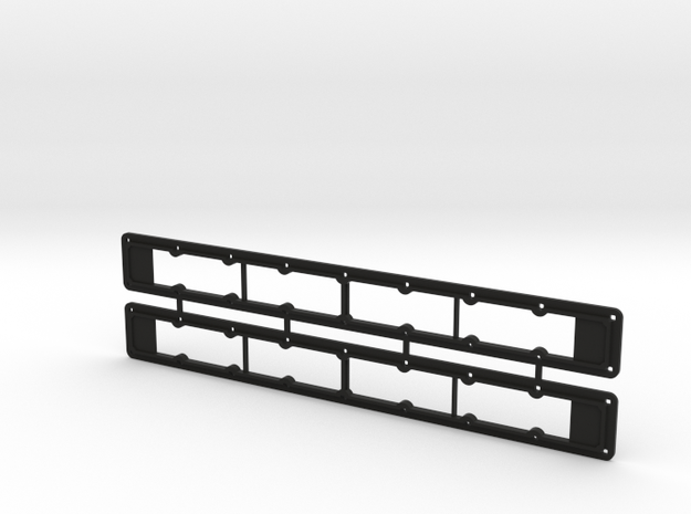 Rivarossi FM C-Liner Main Intake Grille Frame in Black Natural Versatile Plastic