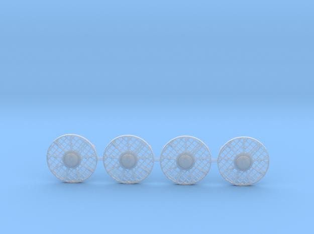 Rivarossi FM C-Liner Radiator Fan Screens in Smooth Fine Detail Plastic