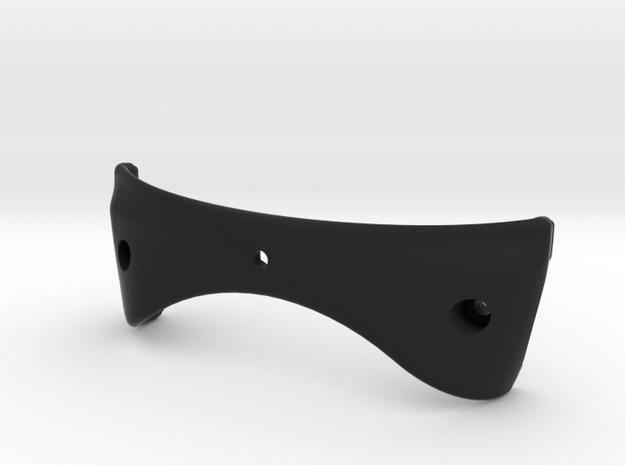 HoloLensMount_LOWER in Black Natural Versatile Plastic