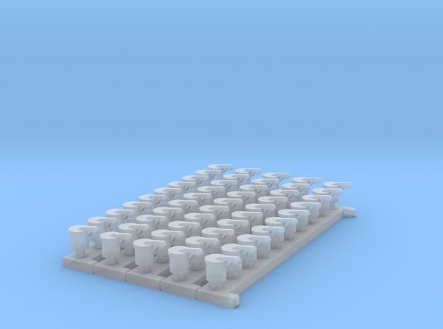 Auspufftopf-AB-Power in Smooth Fine Detail Plastic
