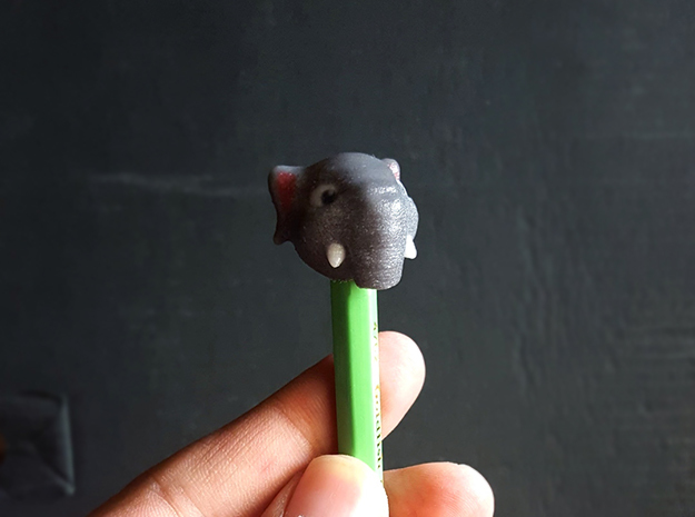 Elephant in Full Color Sandstone