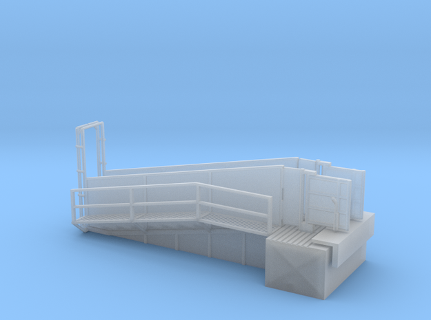 H0 Loading Ramp in Smooth Fine Detail Plastic