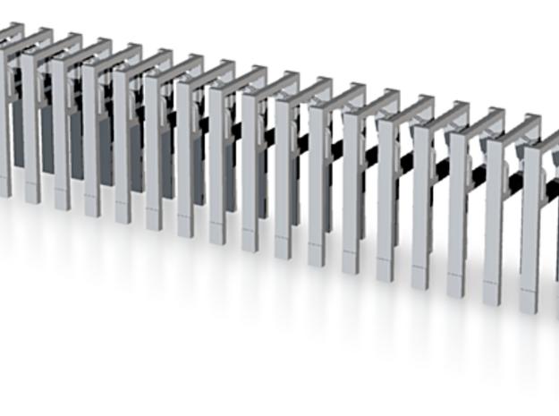 Haken-AB-Dekon 20x in Smooth Fine Detail Plastic