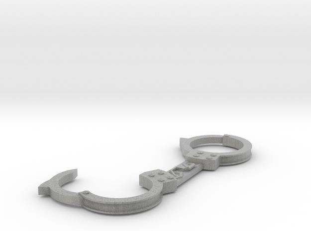 Handcuffs pendant in Metallic Plastic
