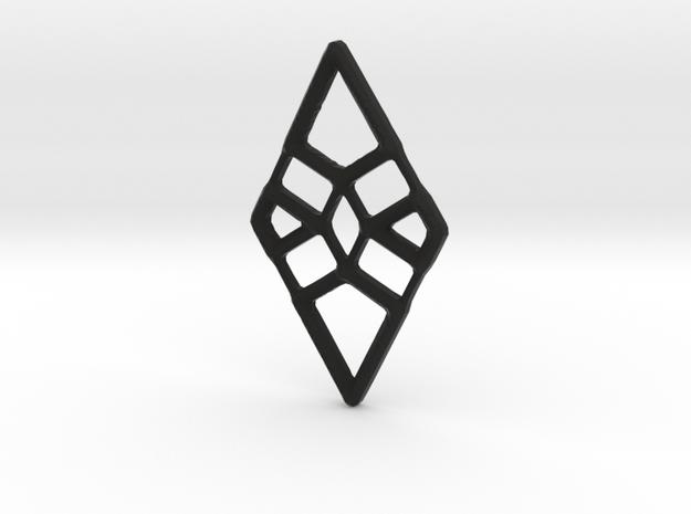 Diamond Twist in Black Strong & Flexible