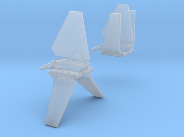 Bad Guy Shuttle Spaceships, Pair, 1:2700