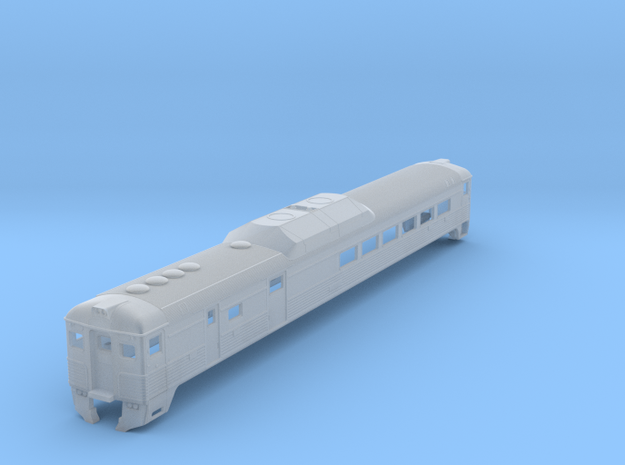 N Scale Budd RDC-3 BC Rail Version Shell in Smooth Fine Detail Plastic