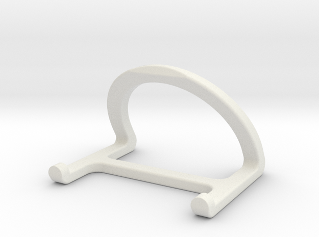 Stand for tablet in White Natural Versatile Plastic
