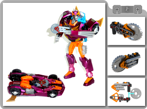 Buzzsaw for Animated Rodimus