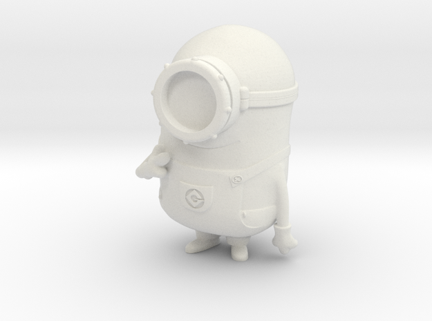 Minions Carl in White Strong & Flexible