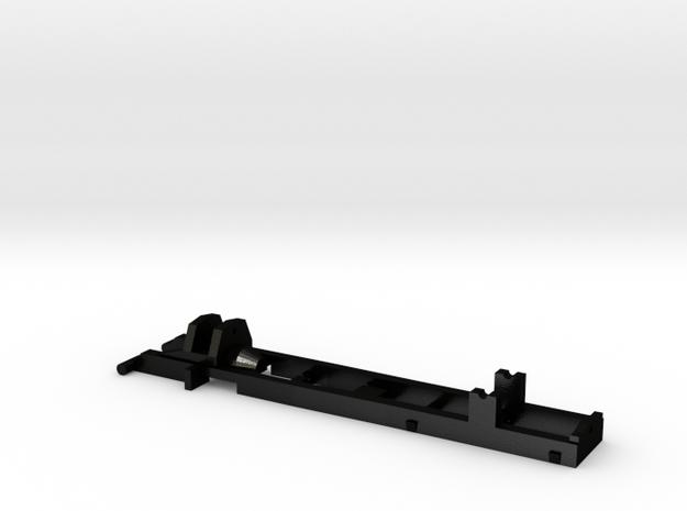 Herpa RC MAN TGM 2 axles 1 87 steel frame  in Matte Black Steel