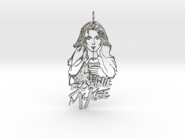 Bonnie Mc Kee Pendant in Natural Silver