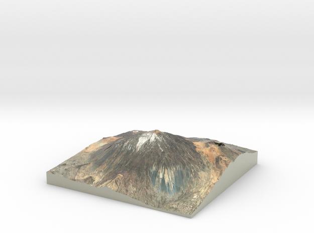 Pico del Teide Map, 1:30,000 in Coated Full Color Sandstone
