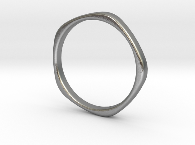 Ring Five Arches-D16,234-W2 in Natural Silver