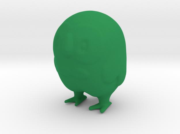 Rowlet in Green Processed Versatile Plastic
