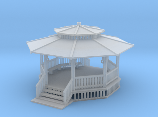 24 Ft Gazebo With Benches Z Scale