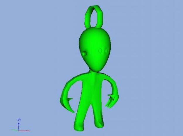 Alien 3d printed Go Alien Go GO
