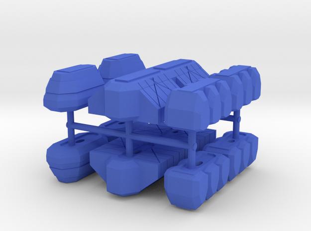 2500 Haydron Cargo Pods in Blue Processed Versatile Plastic