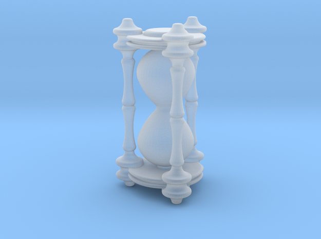 Death's Hourglass / Lifetimer - v1 in Frosted Ultra Detail: 1:18