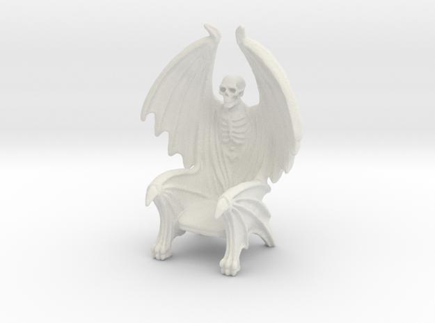 Vampire Throne 1 in White Natural Versatile Plastic