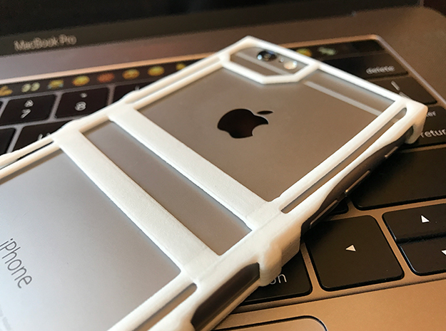 The Essential iPhone Case in White Strong & Flexible Polished