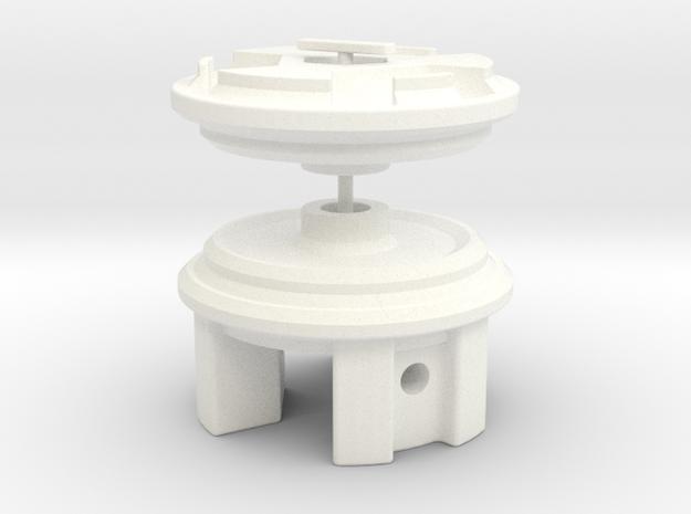 Grasshopper & CW01 Chassis' Diff Lock in White Processed Versatile Plastic