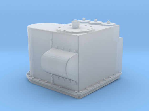 1/96 DKM Stern Deck Hatch v1 in Frosted Ultra Detail