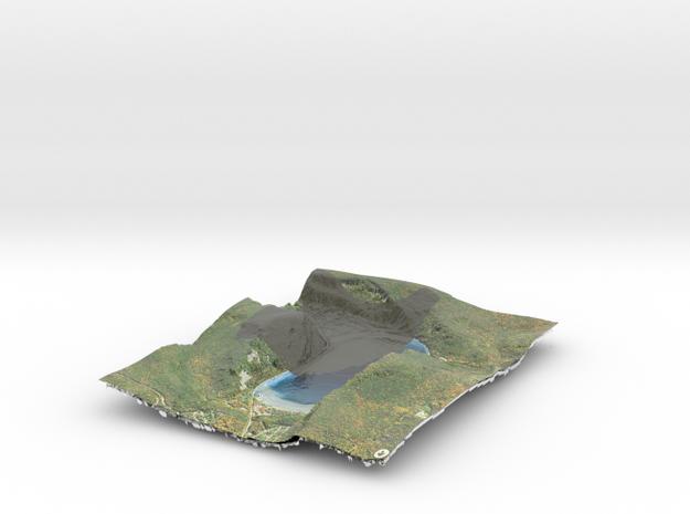 Devil's Lake Map (1:12k) - Bathymetry in Coated Full Color Sandstone
