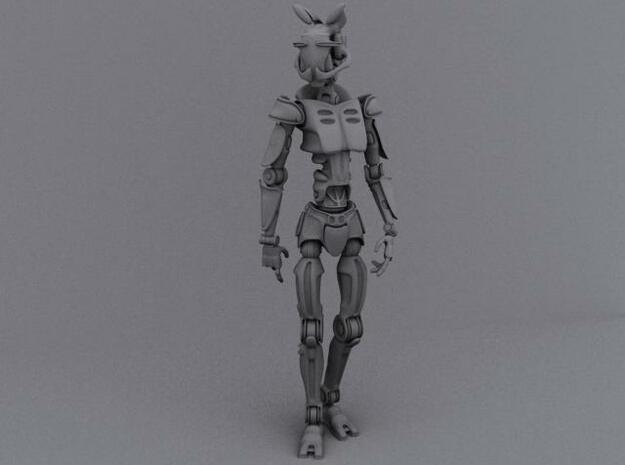 Robot_Trooper_Parts_Medium 3d printed Description