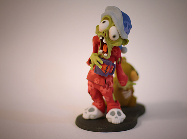 sleepy zombie 3d printed