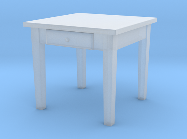 TT Kitchen Table Square- 1:120 in Frosted Ultra Detail