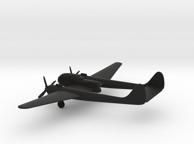 Sukhoi Su-12 in Black Natural Versatile Plastic: 1:160 - N