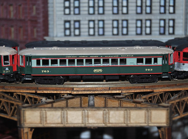 CNSM 741 - 751 series coach in Smooth Fine Detail Plastic