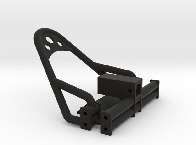 1/24 Crawler Bumper Set (4 link frame) in Black Strong & Flexible