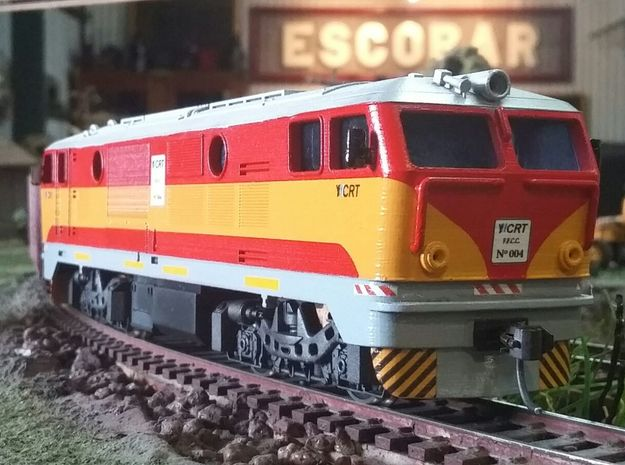 Locomotive FAUR Class 77 in White Strong & Flexible