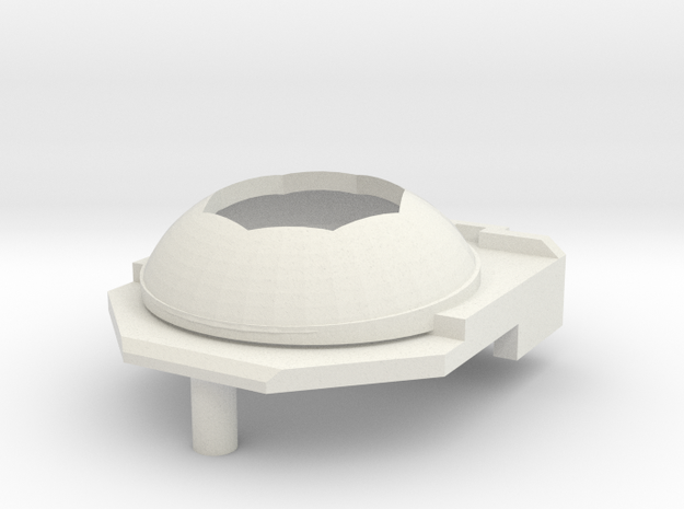 N64 Top in White Strong & Flexible