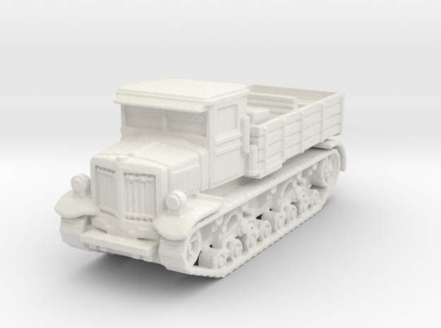 Voroshilovets Heavy Artillery Tractor 1/144 in White Natural Versatile Plastic