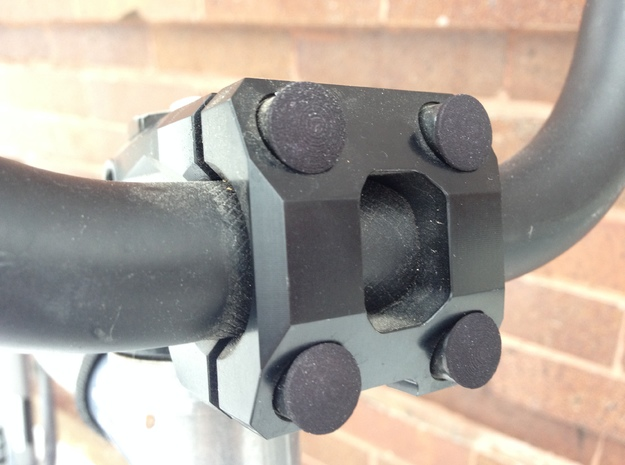 Stem Bolt Plugs for Your Bike!* 3d printed See?!