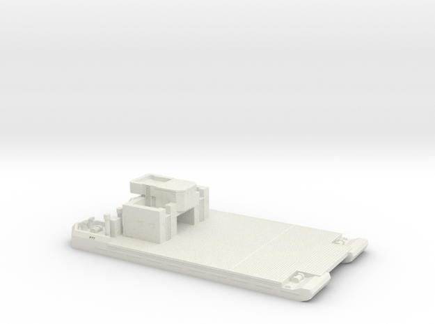 1/285 Pionier-Landungfahre 41 W Deckhouse I & Flak in White Strong & Flexible