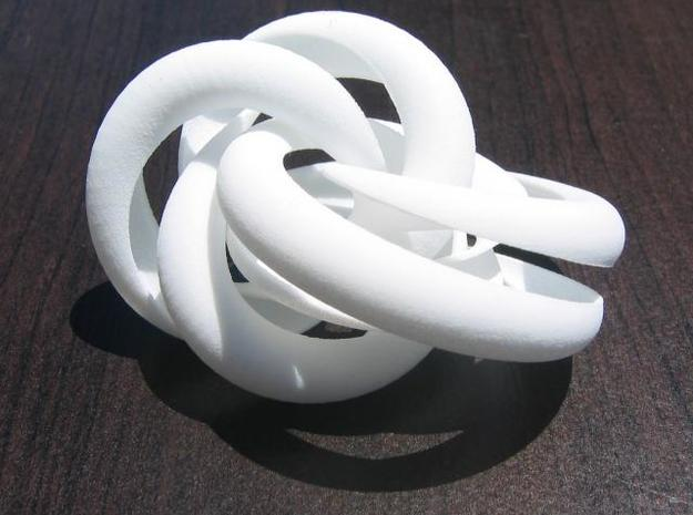 Hollow Knotted Gear 3d printed photo 1