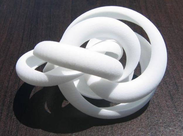 Hollow Knotted Gear 3d printed photo 2