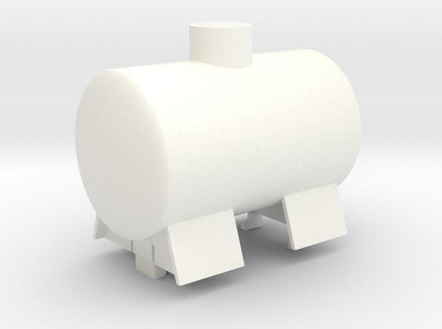 Gnomy Tank Wagon in White Processed Versatile Plastic