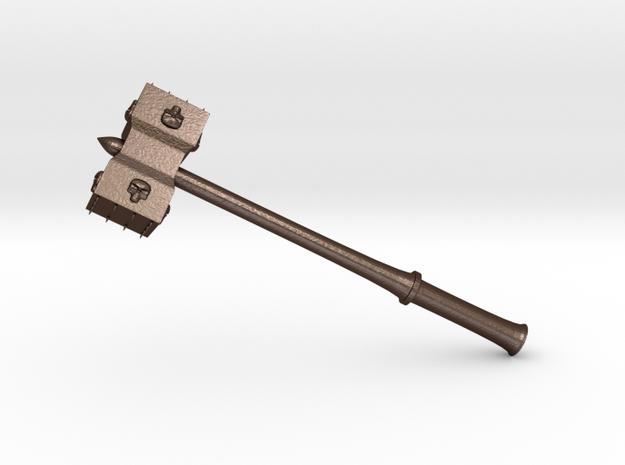 Hammer Stonetowers in Matte Bronze Steel: Medium