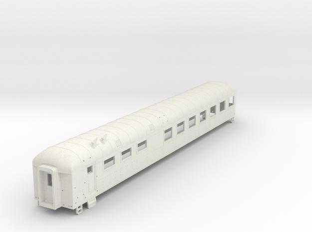 D&RGW Dinner Car in White Natural Versatile Plastic